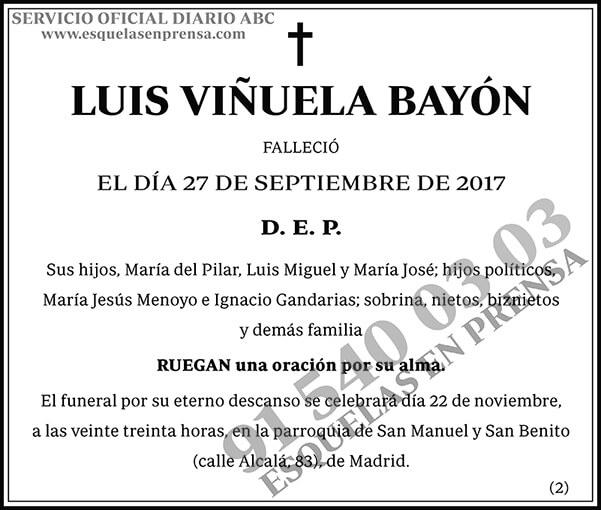 Luis Viñuela Bayón